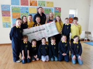 LNR would like to thank the staff and children of Ballylifford Primary School for raising £200.