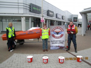 Lough Neagh Rescue today started a Full Years Fundraising Program at Junction One Antrim
