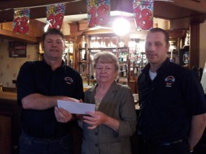 LNR would like to thank Reagans Bridge Club, Maghera for there kind donation of £750.
